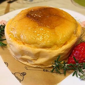 卵1個からの  基本のスフレチーズケーキ