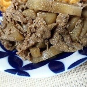ご飯が進む!牛肉と牛蒡の☆ゴマゴマ炒め