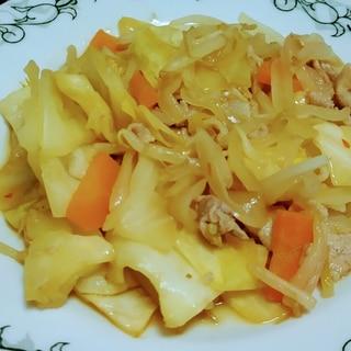 豆板醤で!ピリ辛な野菜炒め