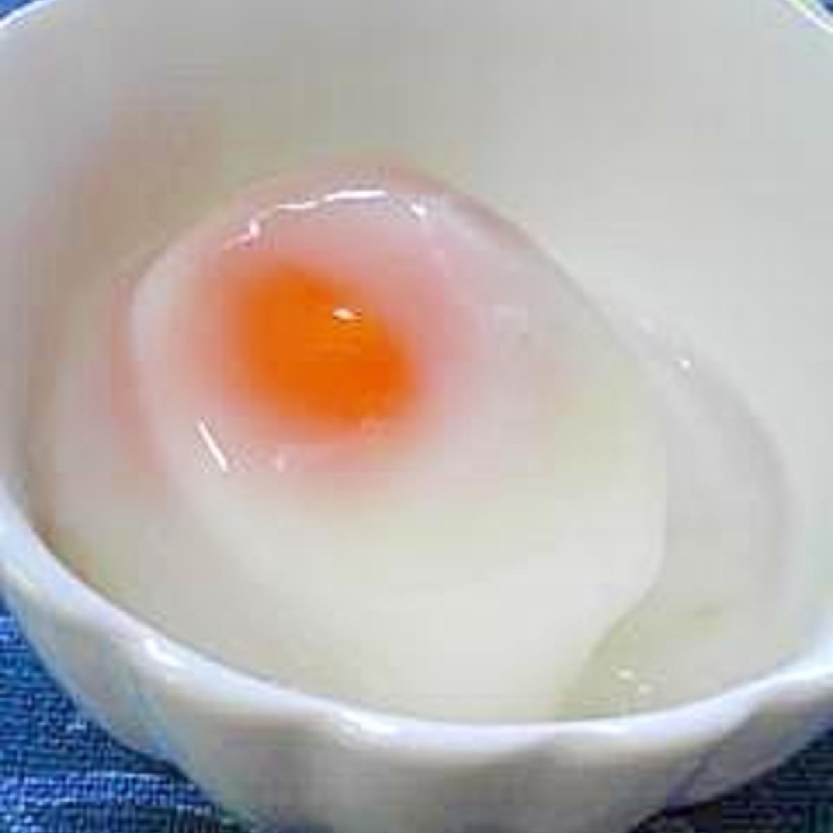 温泉 卵 レンジ レンジでお手軽!温泉たまご by sae371 【クックパッド】...
