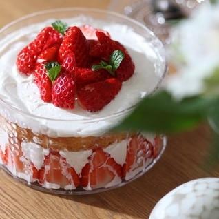 フローラで☆苺のショートケーキ