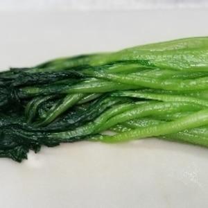 小松菜の下処理(筋とり)と茹で方