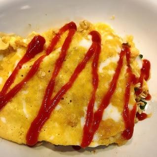 【ダイエット】オートミール オムライス