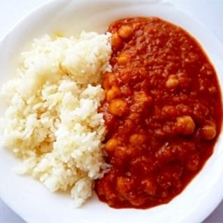 チャナ・マサラ ひよこ豆のインドカレー
