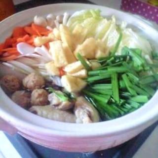 簡単ヘルシー★豆乳鍋