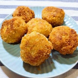 チーズ入り里芋コロッケ
