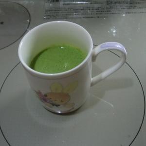 手作りスムージー♡小松菜と人参の野菜ジュース