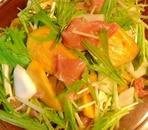 ワインに合う☆柿と蕪のサラダ