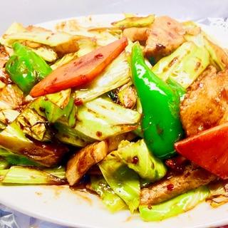 ⭐今夜の定食-「回鍋肉」