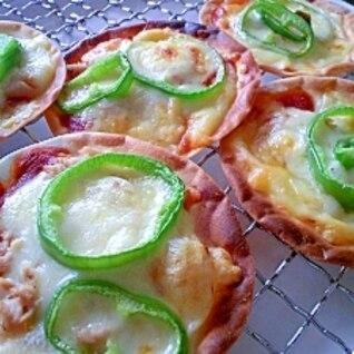 簡単おもてなし☆餃子ピザ