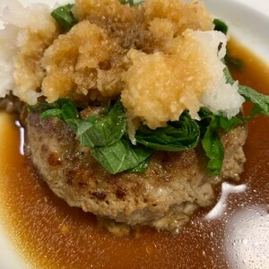 豆腐入り和風おろしハンバーグ