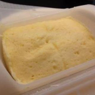ルクエで美味☆チーズケーキ風蒸しパン♪