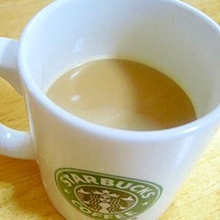 甘めがいいね♪はちみつ豆乳コーヒー