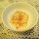 離乳食初期~中期☆野菜のパン粥