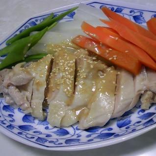 根菜DEボリューム満点♡鶏もも肉の胡麻ダレ風味♡