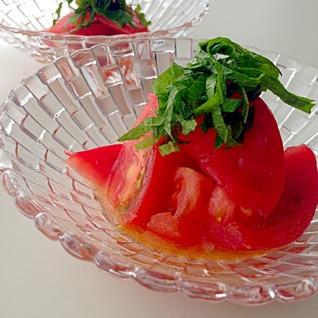 和風♡やみつきトマト