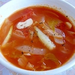 唐辛子&生姜★代謝をあげるトマトスープ