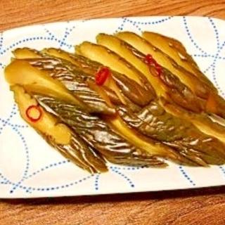 塩蔵キュウリ☆しなべ醤油漬け