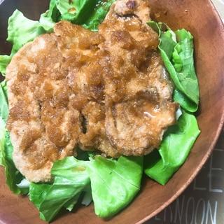 野菜盛り盛り!豚の生姜焼き