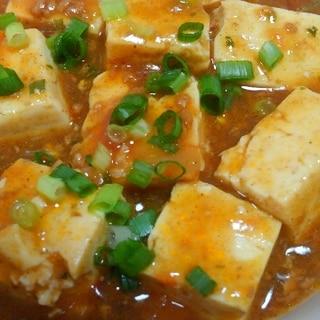 リメイクで簡単♪麻婆カレー豆腐
