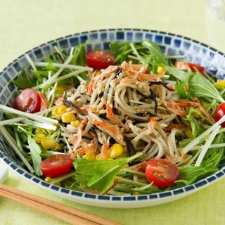 そばのサラダ/Soba Noodles Salad
