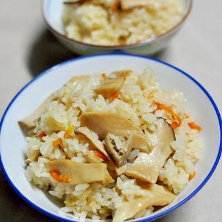 エリンギの炊きこみご飯