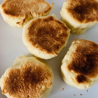 イーストなし♪発酵なし♪フライパンで簡単パン