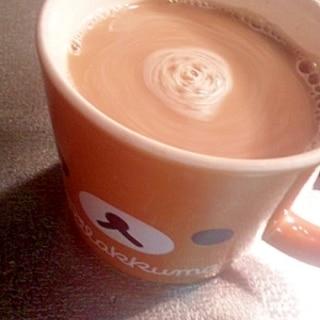 あずきカフェラテ