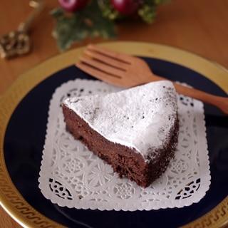 簡単おいしい濃厚ガトーショコラ☆バレンタイン