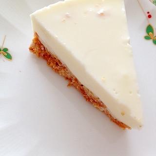 水切りヨーグルトでレアチーズケーキもどき