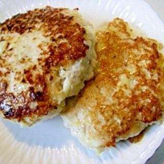 チーズ入り ❤鶏ミンチのハンバーグ❤