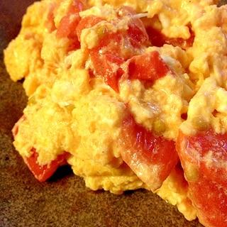 とろっと♥熱々♥トマトと卵の炒め物