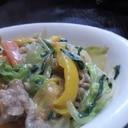 お野菜いっぱい 白菜のクリーム煮