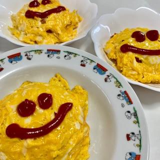 子どものお昼ご飯に是非!簡単&定番オムライス