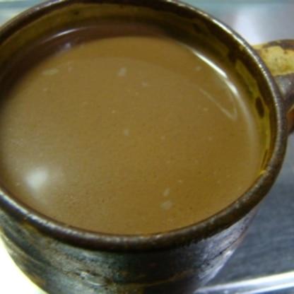 チョコもコーヒーも大大大好きなので間違いのない美味しさ♪ 濃厚がめちゃウマですぅヽ(*´∀`)ノ心までぽかぽかになりました♪馳走様ぁ❤