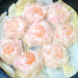 かにかま☆豆腐でふわふわ☆レンジでかにしゅうまい