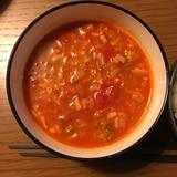 コンソメ無しでもとっても美味しいトマトスープ