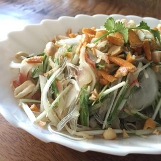 カニカマdeベトナム風春雨サラダ!