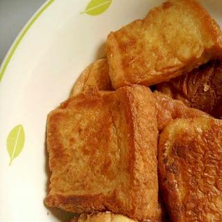 離乳食★きなこフレンチトースト(卵なし)