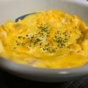 レンジで50秒!簡単な卵焼き〜アレンジも^ ^