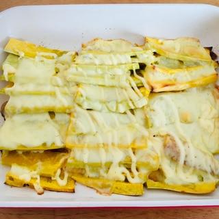 バターナッツかぼちゃ☆チーズ焼き