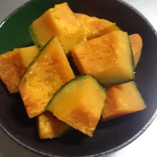 味の素を使ったカボチャの煮物