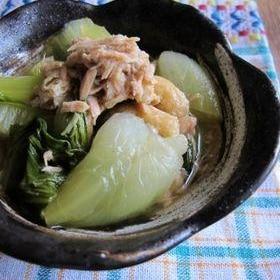 チンゲン菜の煮物