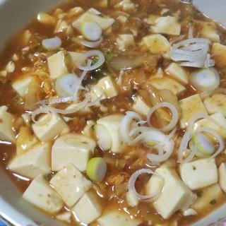 白菜入り麻婆豆腐☆