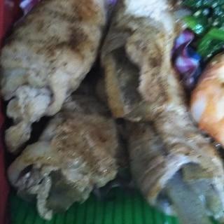 ごぼうの肉巻き( ´∀`)