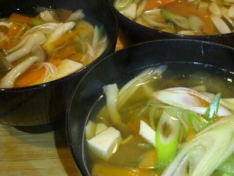 根菜とろみ汁