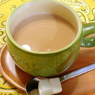牛乳☆アッサムでチャイ