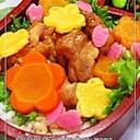 お弁当の彩りに★花びらかまぼこ