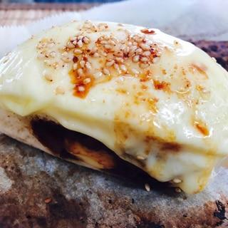 アレンジ!チーズのせ焼きカレーまん