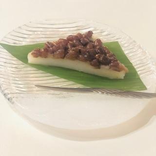 6月の和菓子 水無月